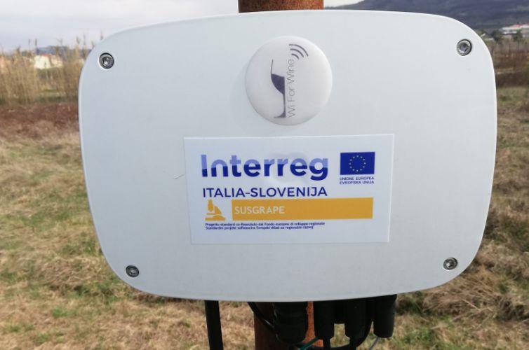 SUSGRAPE Promuovere la viticoltura sostenibile attraverso le TIC nelle zone transfrontaliere ITA-SLO
